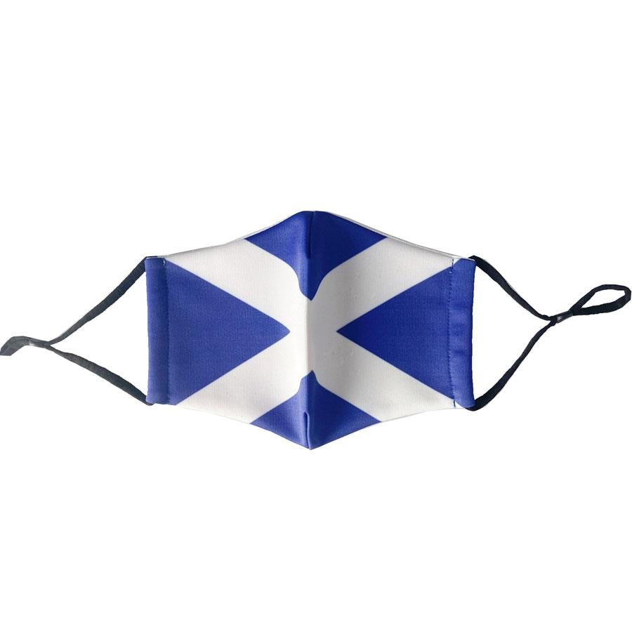 Saltire Scottish Flag Reusable Face Mask