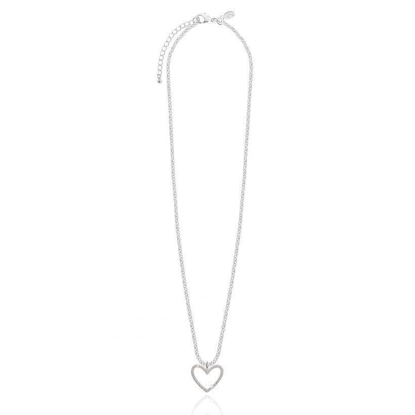 Evie Heart Pendant Necklace