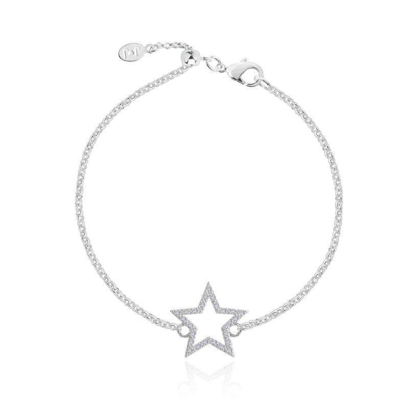 Evie Star Adjustable Slider Bracelet