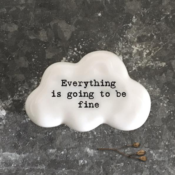 Everything Is Going To Be Fine Cloud Token