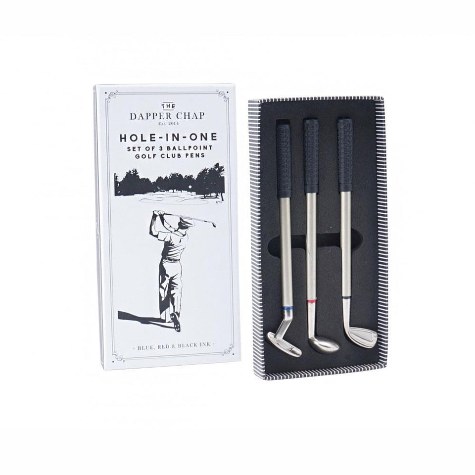 Dapper Chap Hole-In-One Golf Club Pens