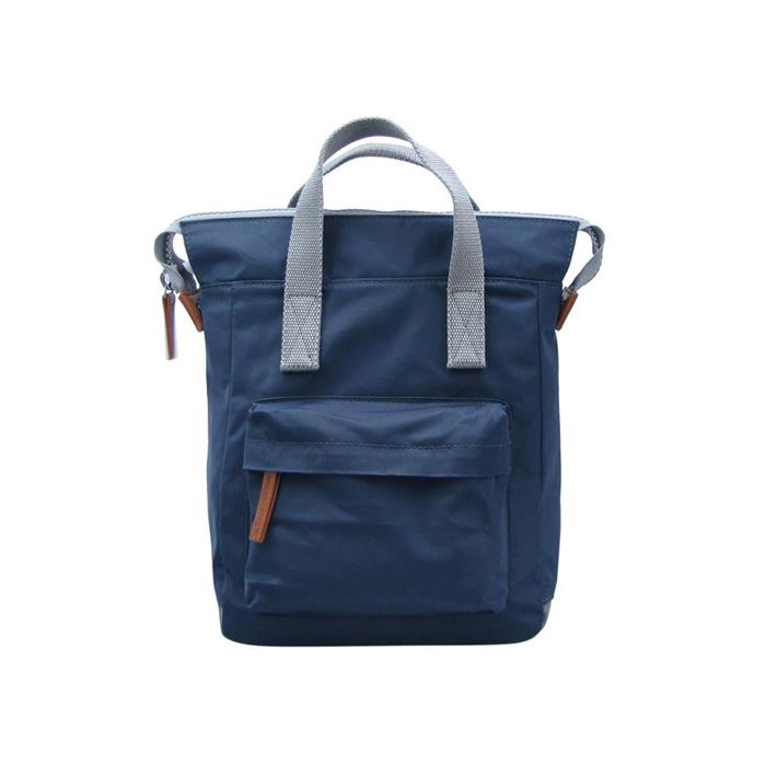 Midnight Blue Nylon Backpack
