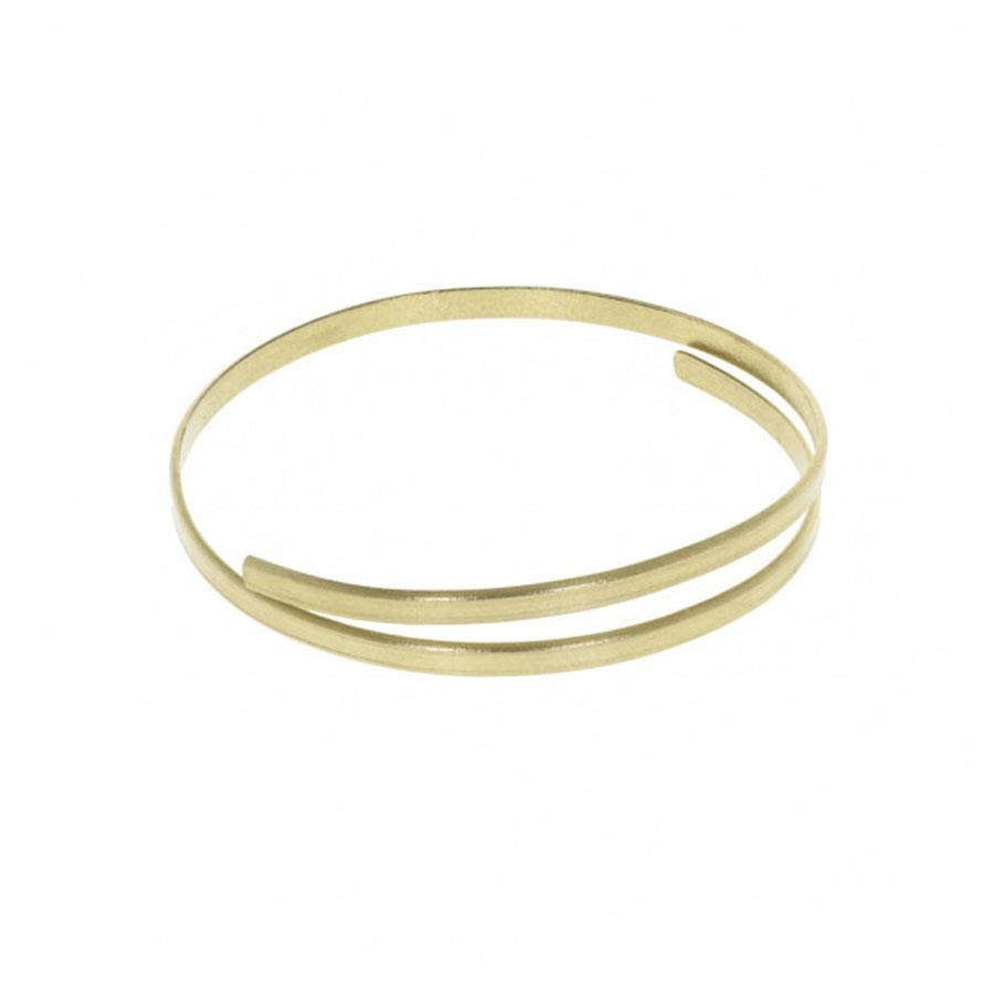 Ruthi Brass Bangle