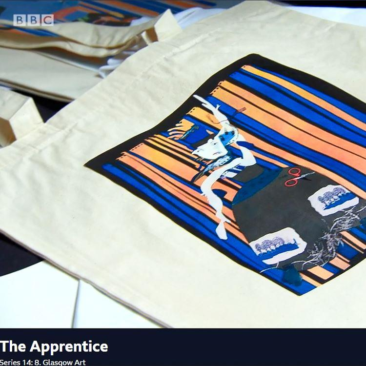 The Apprentice Tote Bag | Limited Art Edition