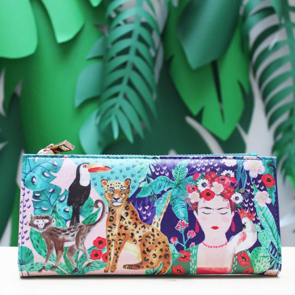 Frida Kahlo Tropical Wallet