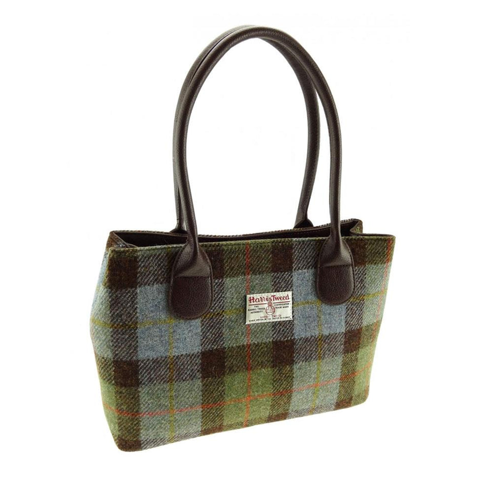 Harris Tweed MacLeod Tartan Cassley Handbag