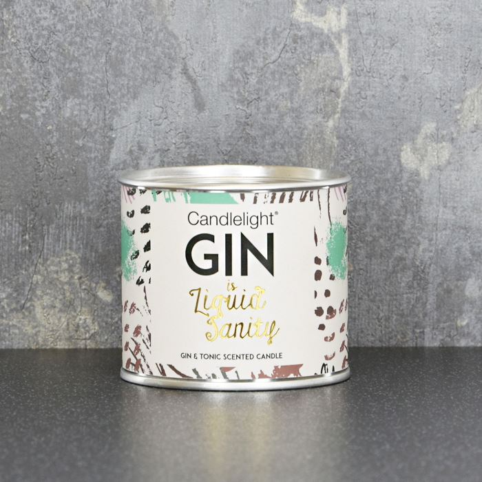 Gin is Sanity Ring Pull Candle