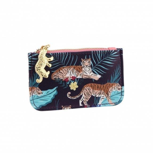 Tiger Wild Thoughts Zip Purse