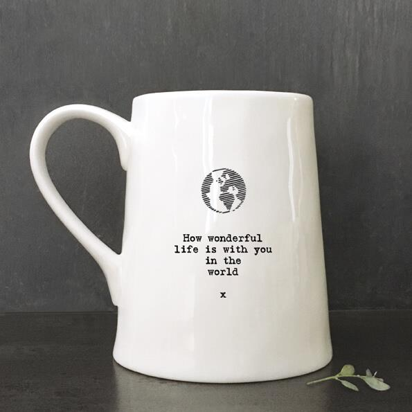 World/How Wonderful Porcelain Mug