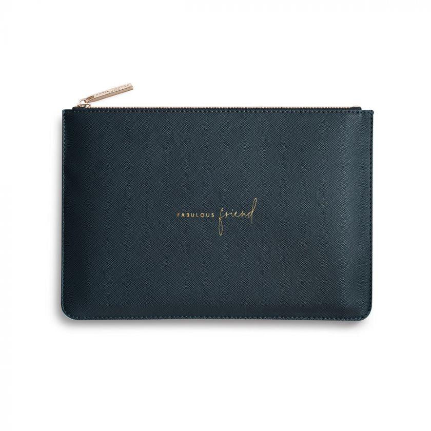 Fabulous Friend Navy Perfect Pouch