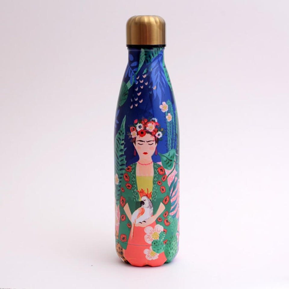 Frida Kahlo Stainless Steel Drinks Flask