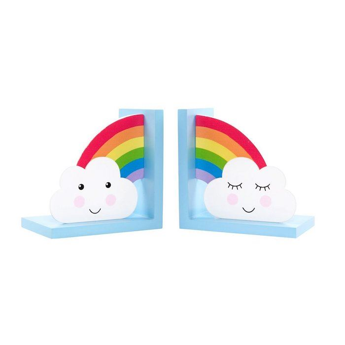 Day Dreams Rainbow Bookends