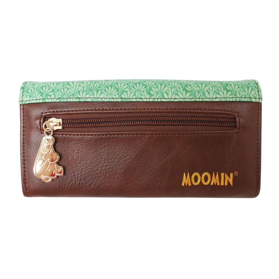 Moomin Party Print Long Wallet