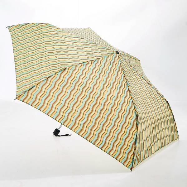 Zig Zag Print Mini Umbrella