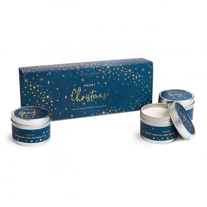 Festive Trio Candle Gift Box