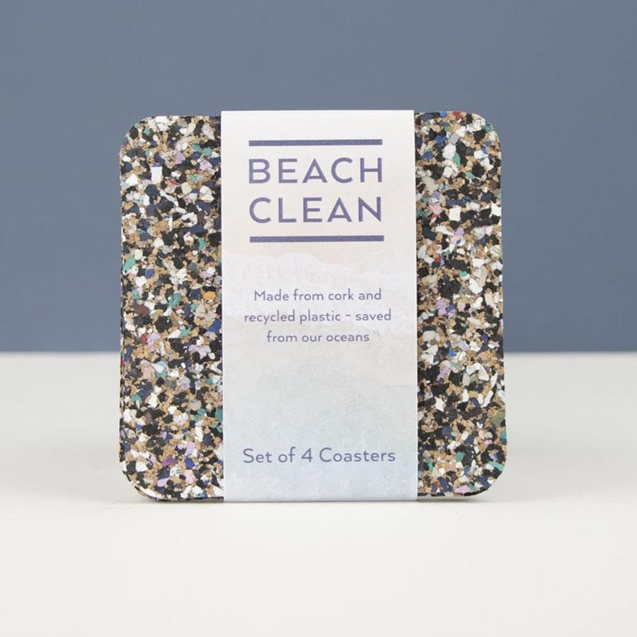 Beach Clean Coasters Set