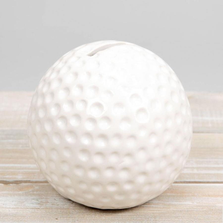 Harvey Makin Golf Ball Money Bank