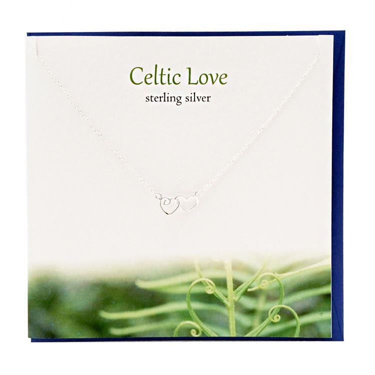 Silver Celtic Love Necklace
