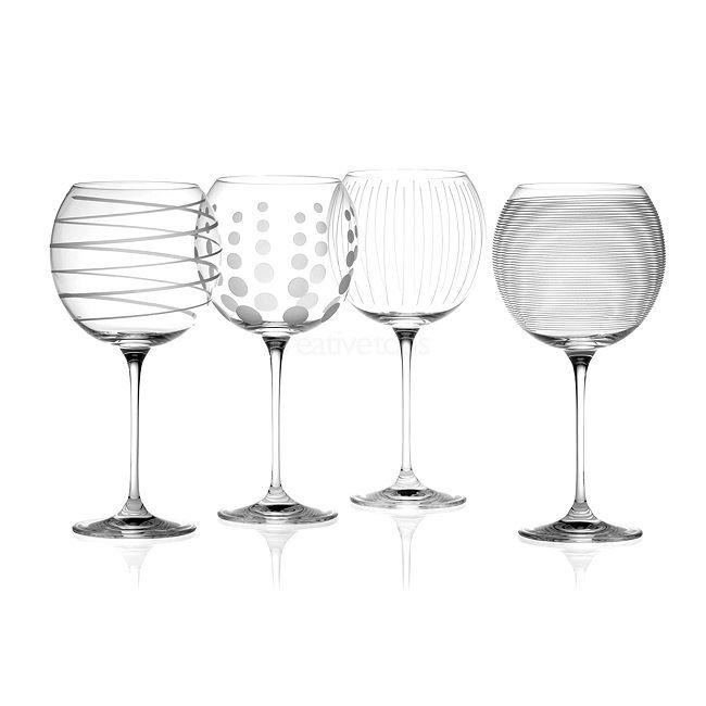 Mikasa Cheers Balloon Glass | Set of 4