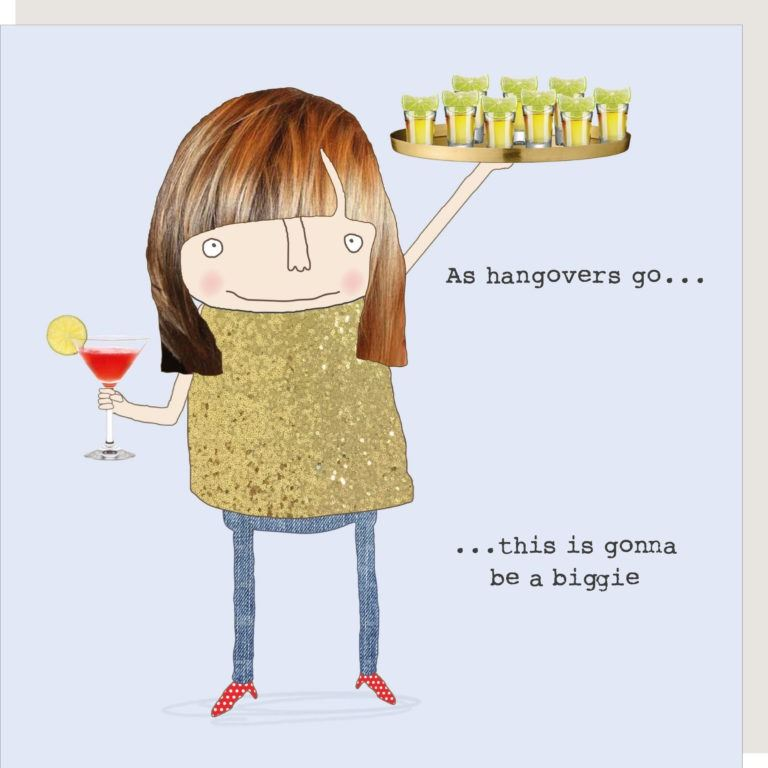 As Hangovers Go - Biggie Card