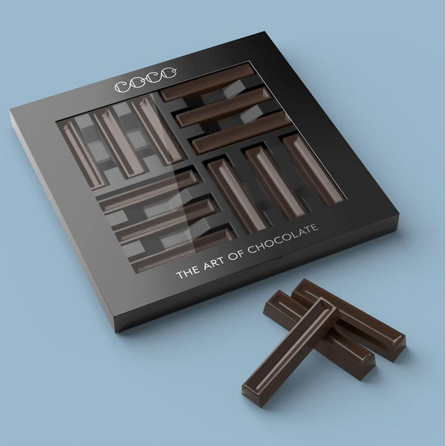 Luxurious Dark Chocolate Batons