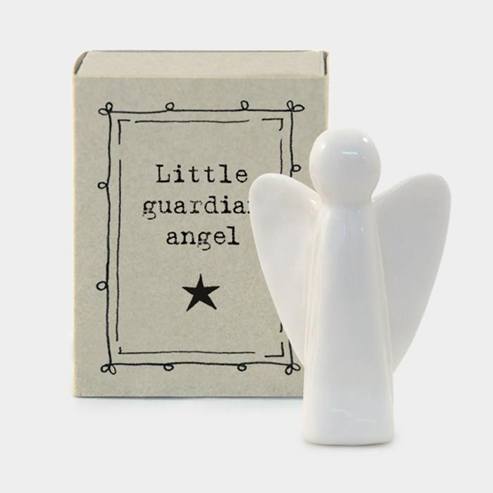 Porcelain Angel In Matchbox