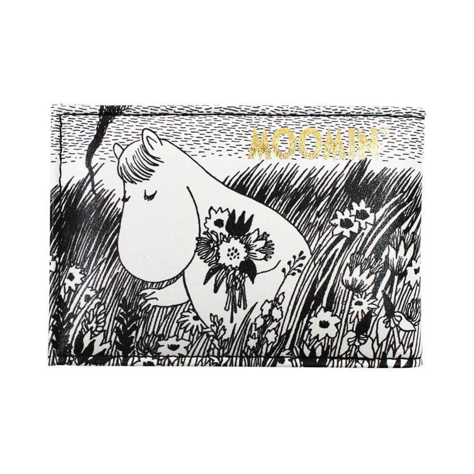 Moomin Midwinter Print Travel Pass Card Holder