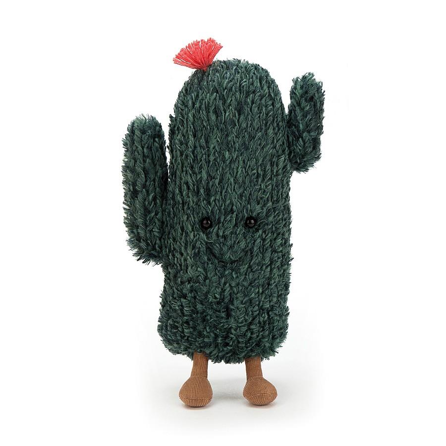 Cactus Plush Pouch Bag