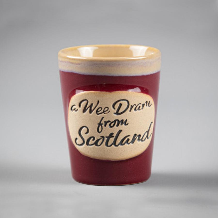 Wee Dram Red Shot Cup