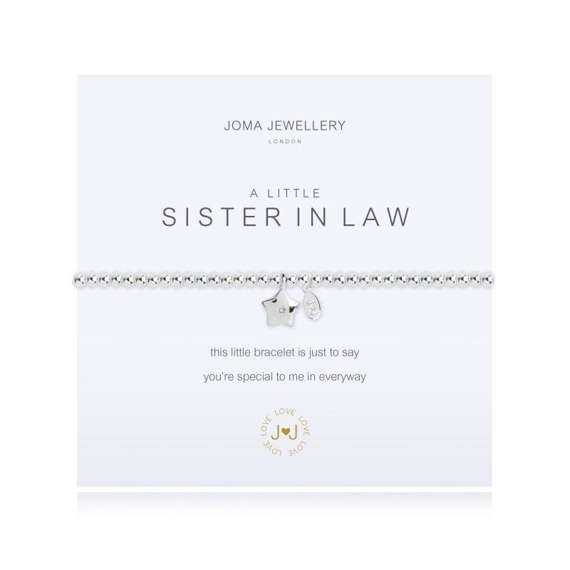 A Little 'SISTER IN LAW' Bracelet