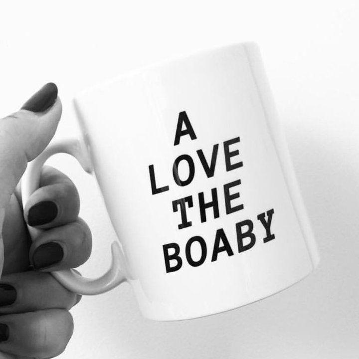 A Love The Boaby Mug