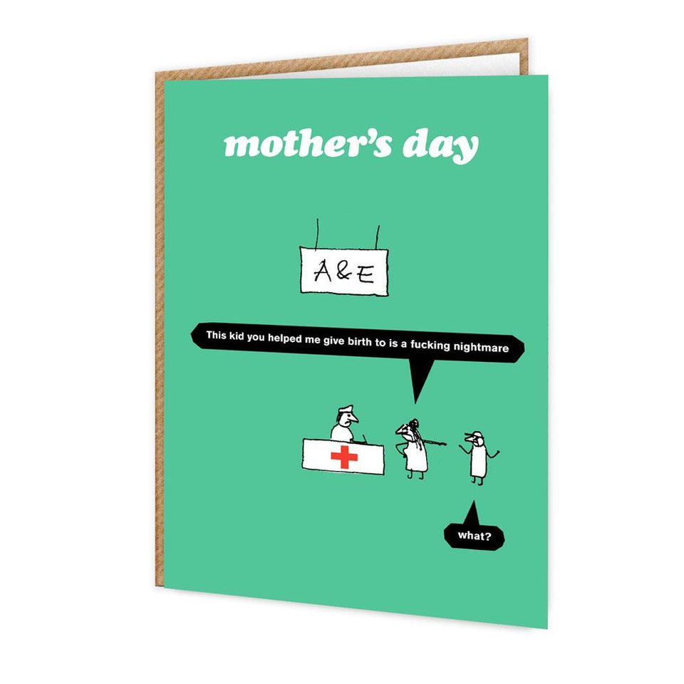 Mother's Day A&E Card