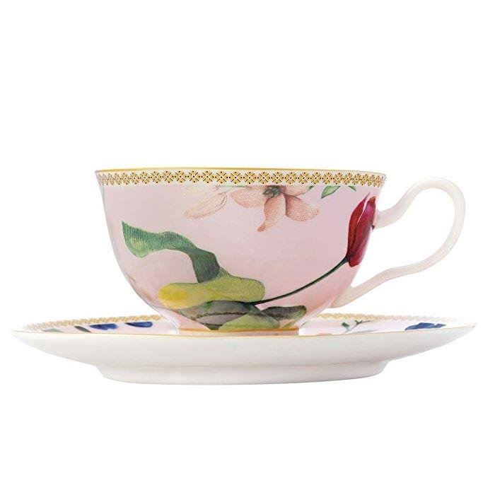 Maxwell & Williams Rose Cup & Saucer Set