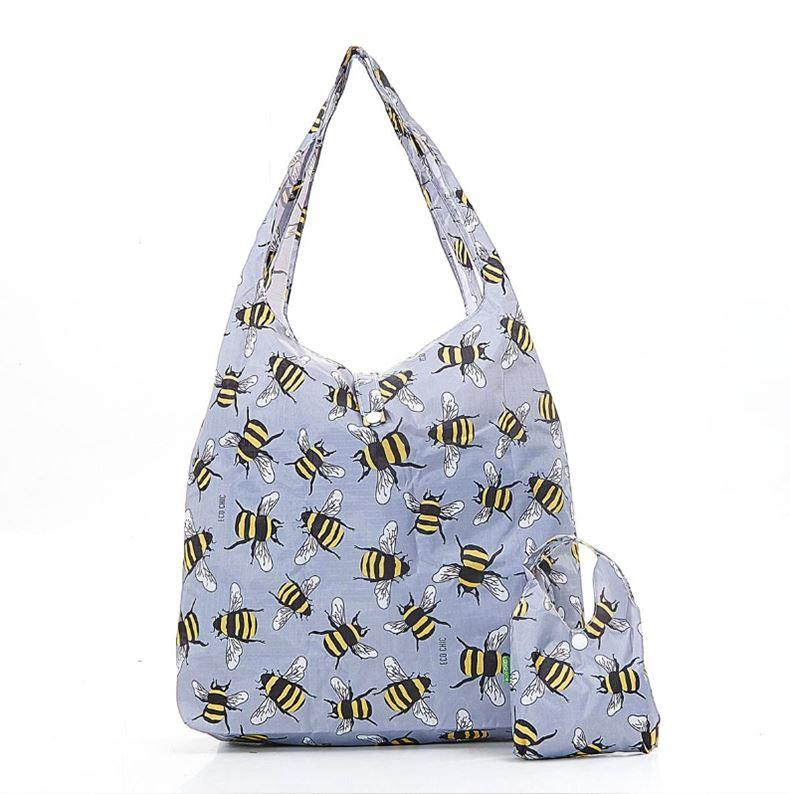 Bees Foldable Eco Shopper Bag | Assorted