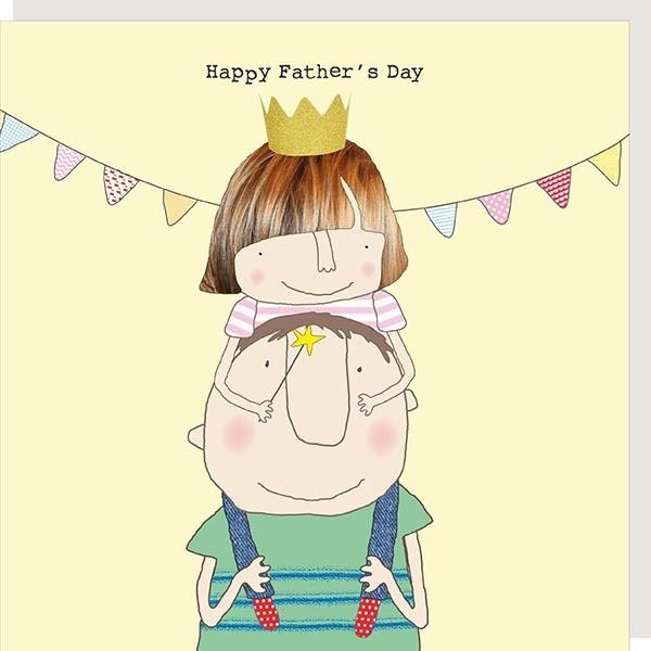 Father's Day Girl Card