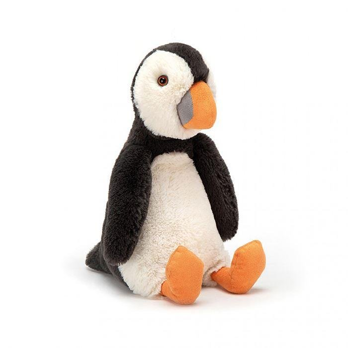 Bashful Puffin Medium Plush Toy