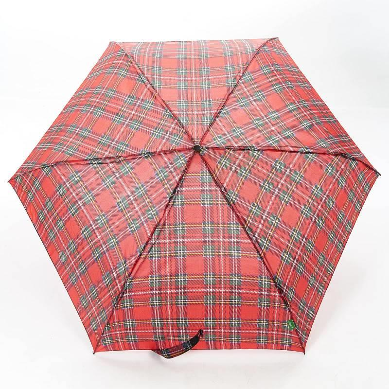 Red Tartan Mini Umbrella