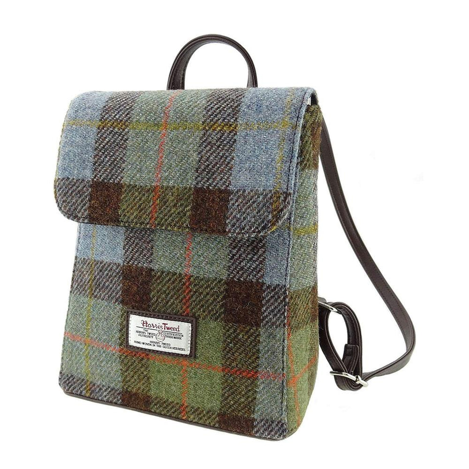 Harris Tweed MacLeod Tartan Mini Backpack