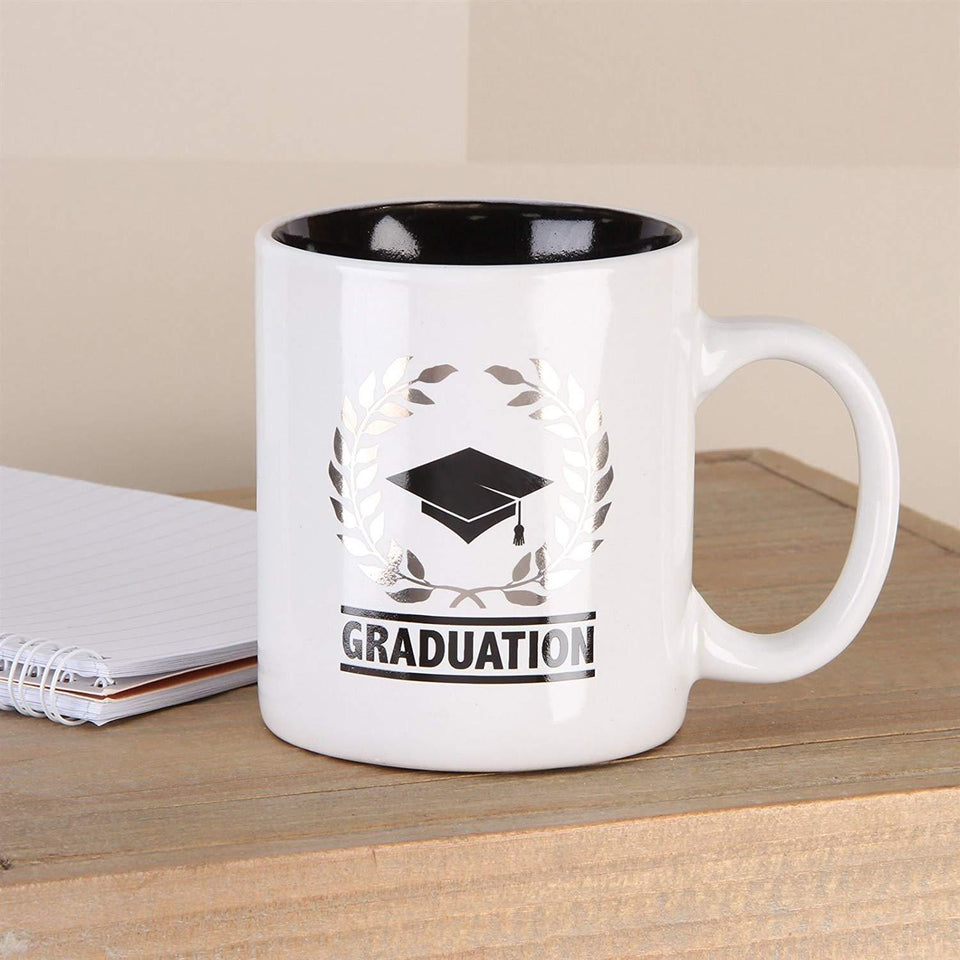 Laurel Wreath Graduation Mug