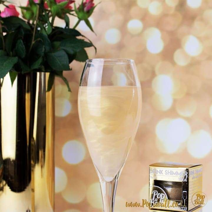 Gold Edible Shimmer for Prosecco