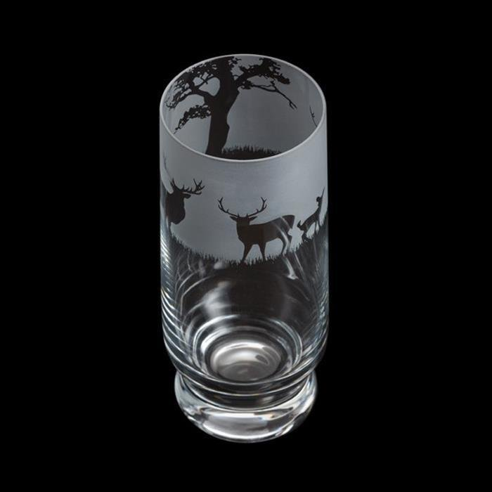 Aspect Stag Motif Highball Glass