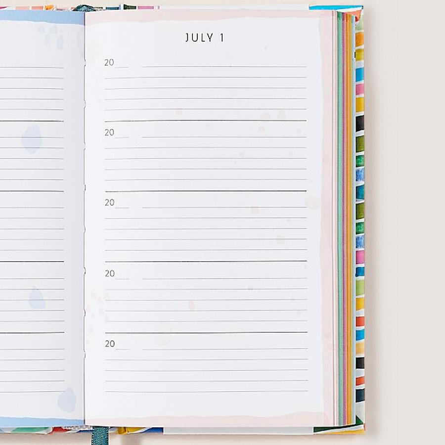 Rainbow One Line a Day Journal