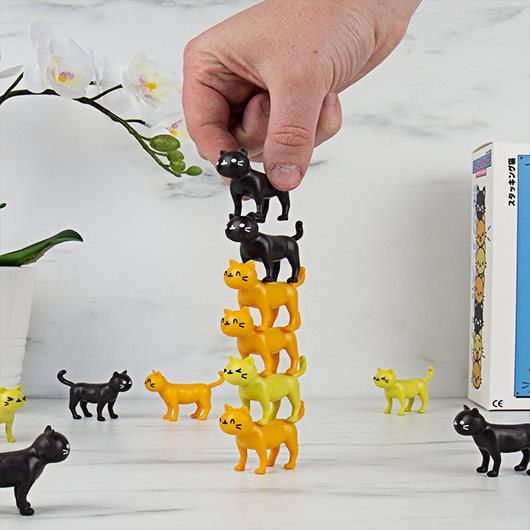 Catastrophe Stackable Cat Game