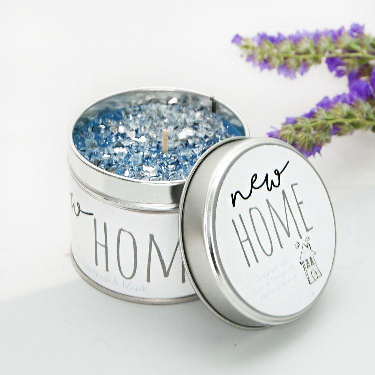 Tracey Russell New Home Candle Tin
