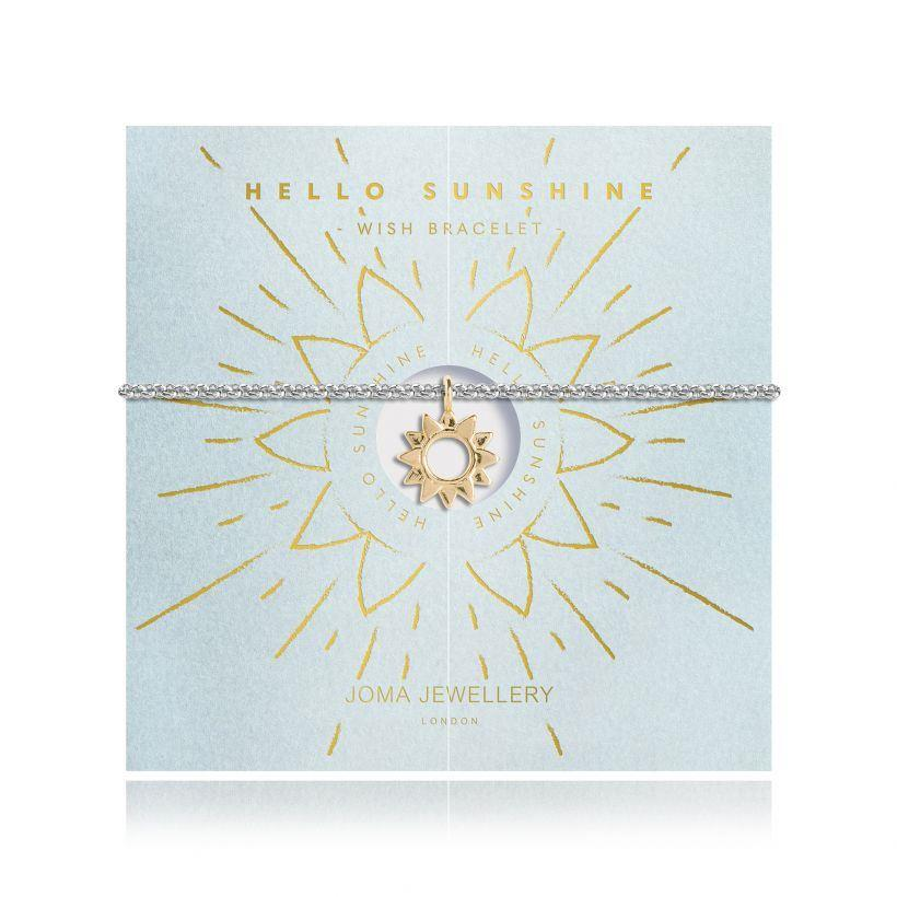 Hello Sunshine Wish Bracelet