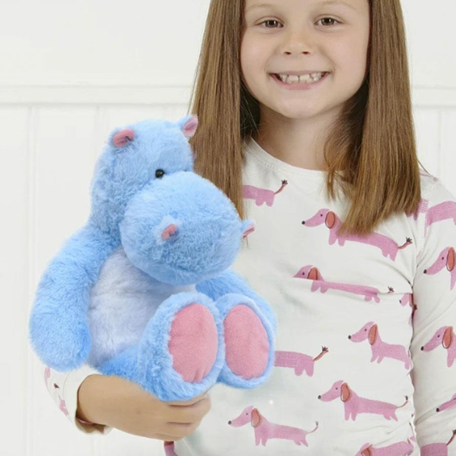 Hippo Hot Hugs Microwaveable Toy