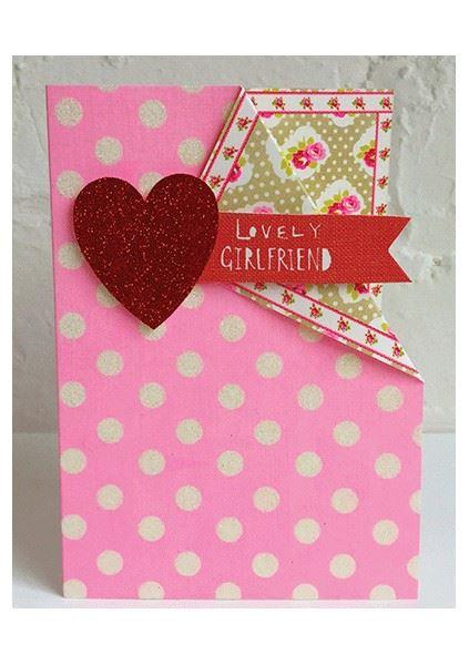 Lovely Girlfriend Card