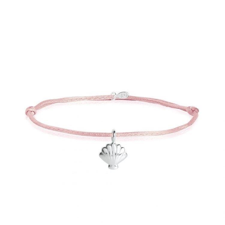 Tiny Treasures Pink Shell Bracelet