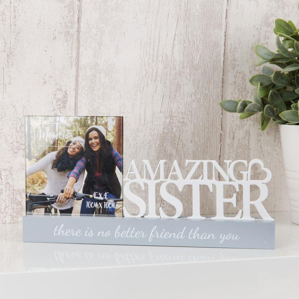 Amazing Sister Photo Frame