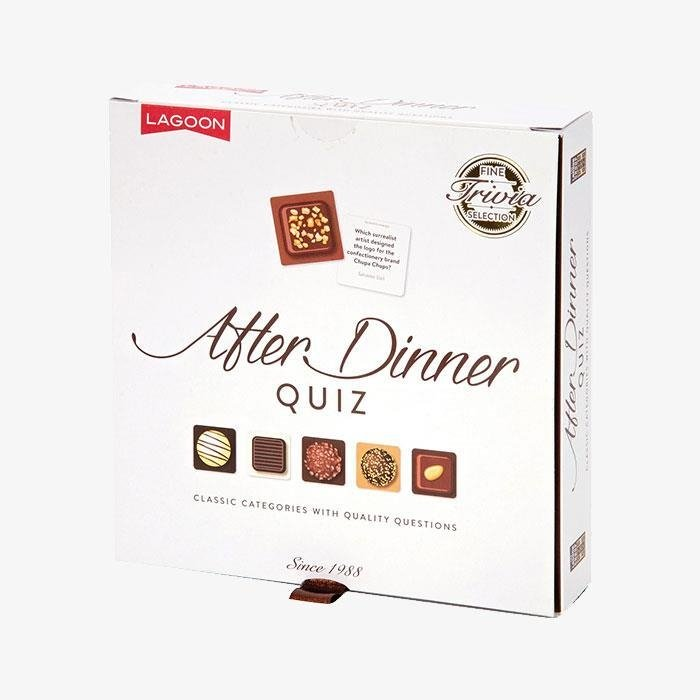 After Dinner Quiz Card Set